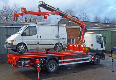 Fassi hydraulic crane F100AT 01