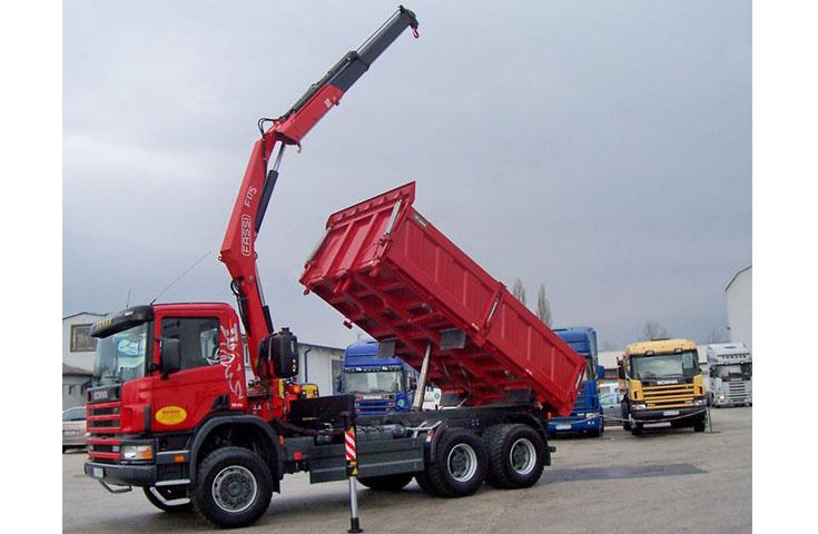 Small Knuckle Boom Crane : Hydraulic crane f a active fassi gru spa
