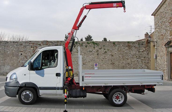 Fassi hydraulic crane F28A active 01