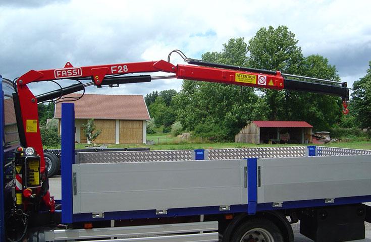 Fassi hydraulic crane F28A active 05