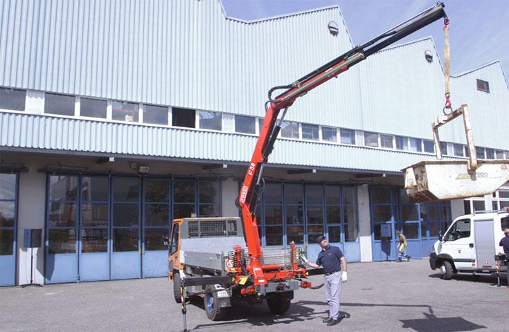 Fassi hydraulic crane F38A active 03