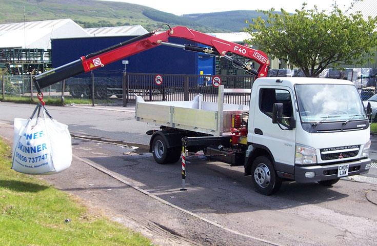 Fassi hydraulic crane F40A active 02