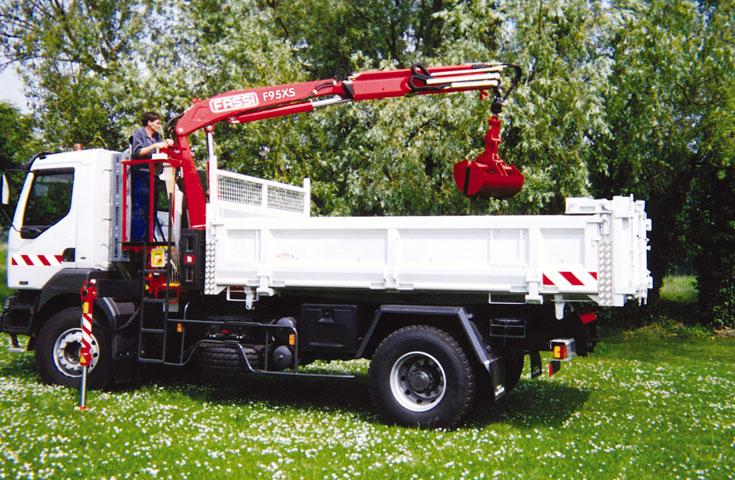Fassi hydraulic crane F95AXS_01