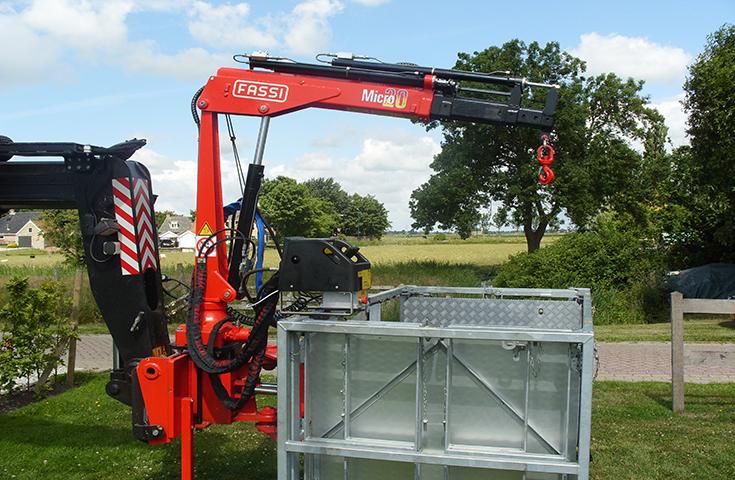 Fassi crane MICRO M20A 06
