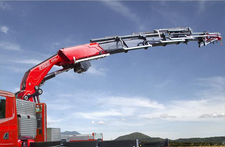 Loader crane F2150RA xhe-dynamic - Fassi Crane