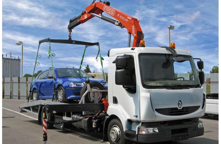 Fassi hydraulic crane F105Ae-active 01