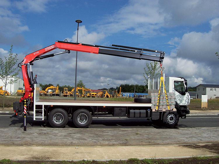 F110B.2 Fassi loader crane 03