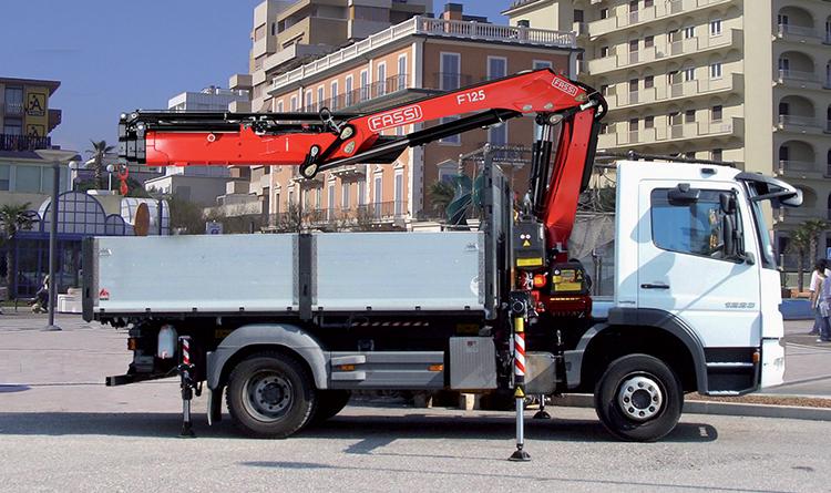 Camiones grúa | Modelo de grúa F125A.2 xe-dynamic - Grúas Fassi
