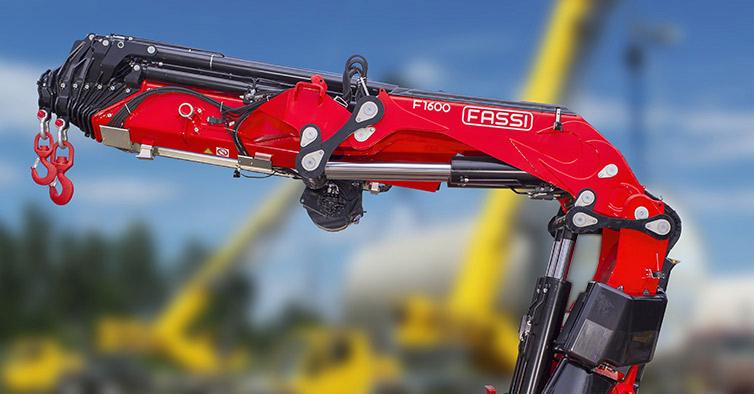Hydraulic cranes F1600RAL he-dynamic - Fassi Crane