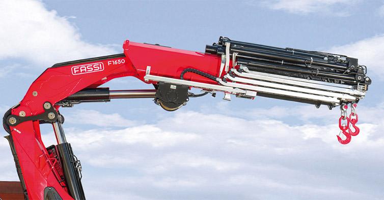 Hydraulic crane F1650RA xhe-dynamic - Fassi Crane