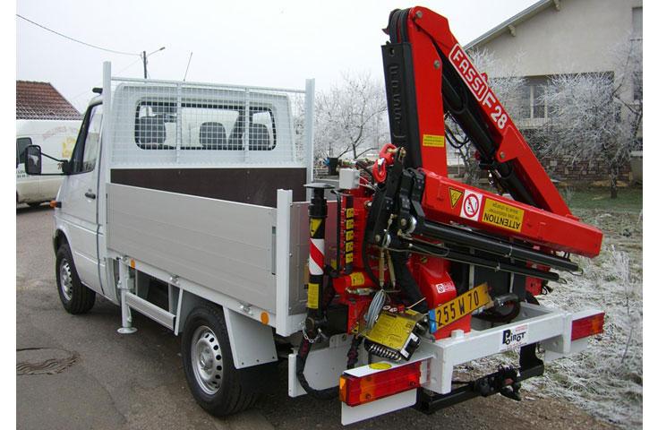 Fassi hydraulic crane F28A active 02