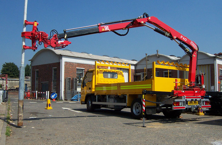 Fassi hydraulic crane F40A active 01