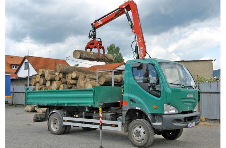 Fassi hydraulic crane F40A active 05