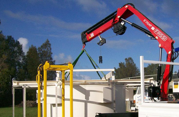 Fassi hydraulic crane F70A e-active 02