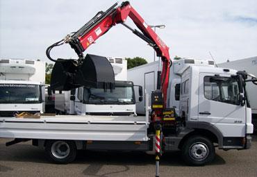 Fassi hydraulic crane F80AK 01
