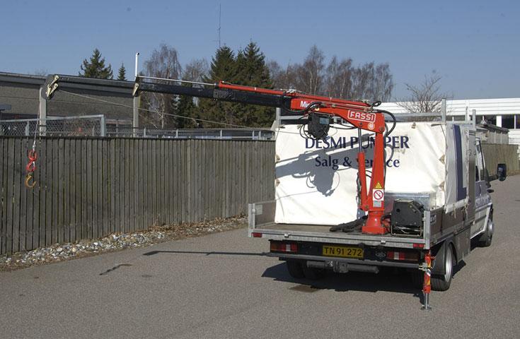 Fassi crane MICRO M25A 01