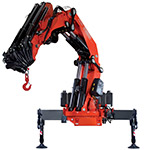 Fassi knuckle boom heavy-duty cranes