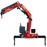Fassi knuckle boom medium-duty cranes