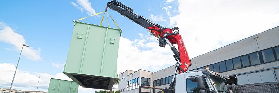 Loader cranes manufacturer since 1965 - Fassi Crane