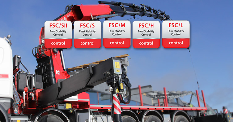 Fassi Stability Control: Matching table