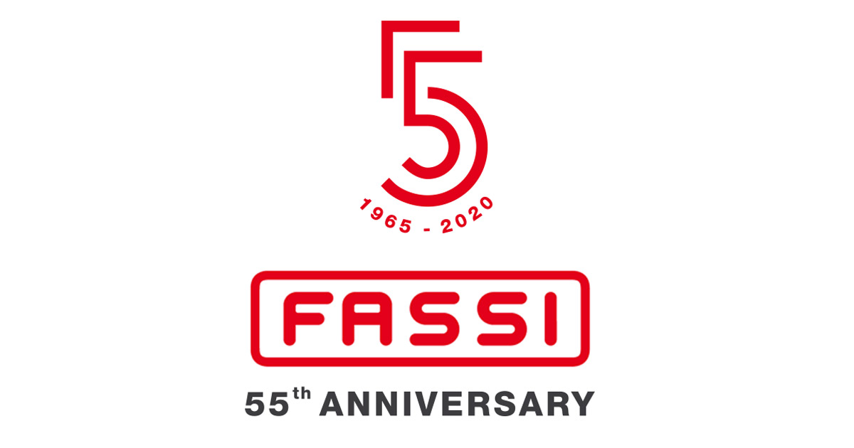 55 years anniversary for Fassi