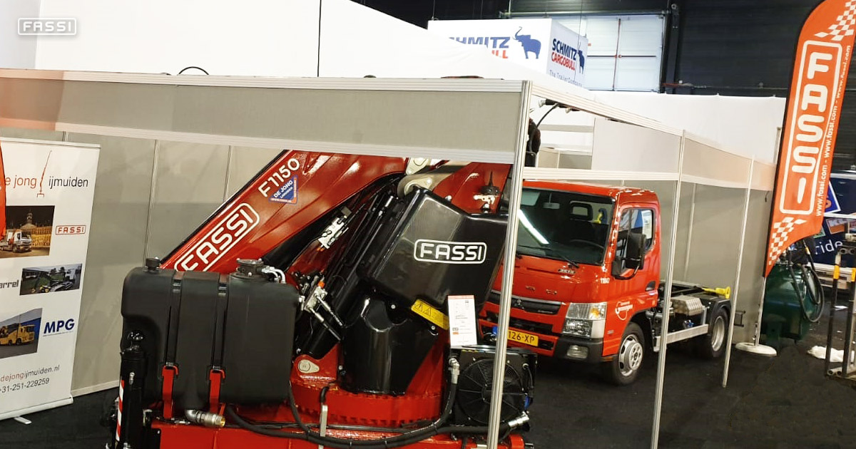 Fassi at Transport Compleet Hardenberg 1