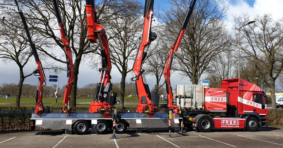Fassi at Transport Compleet Hardenberg 2