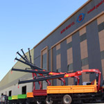 Fassi F195A.0.23 active cranes in Arabia