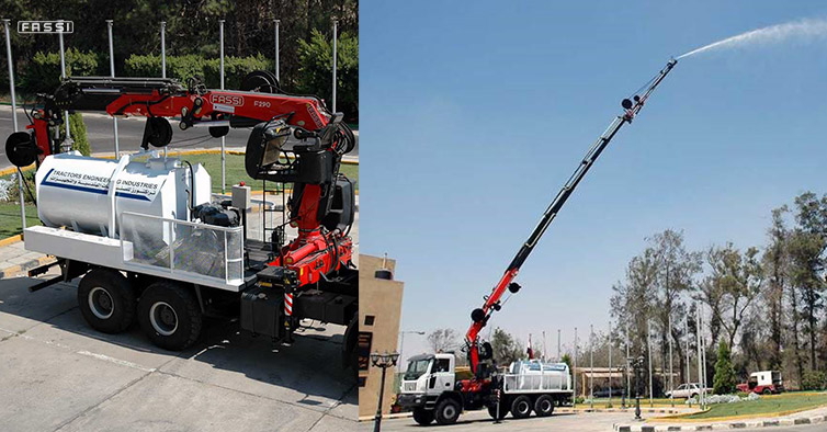 Fassi & Hot Line Insulator Washer