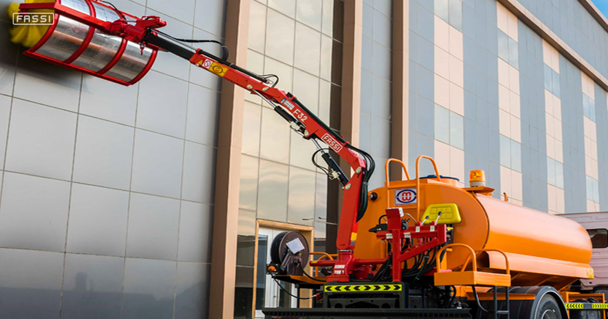 Interesting solution with the Fassi F32A