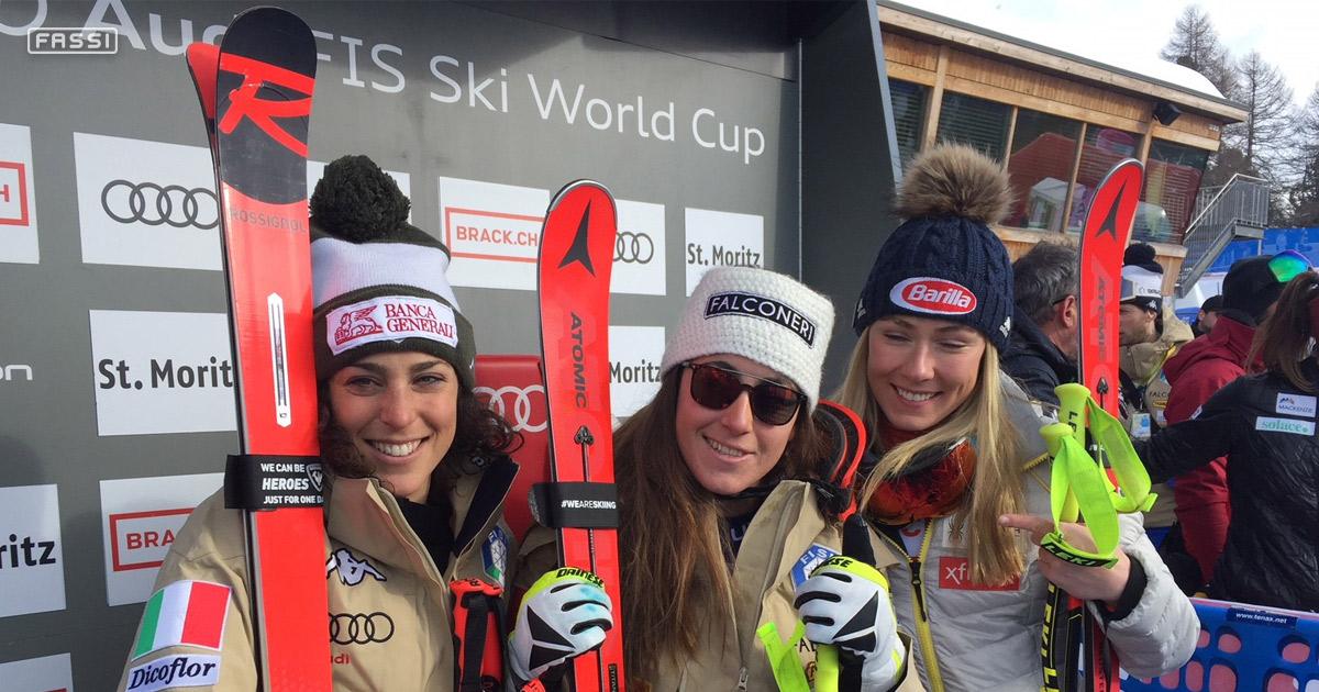 Sofia Goggia Wins In St Moritz Fassi Crane