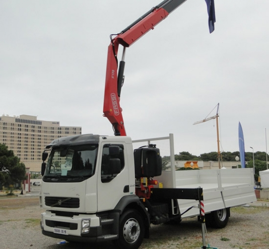 Fassi on Volvo