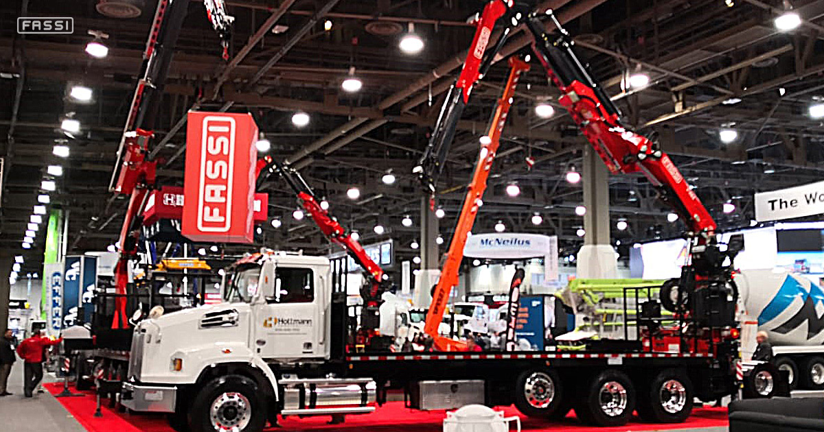 Fassi e Fascan al World of Concrete 2019