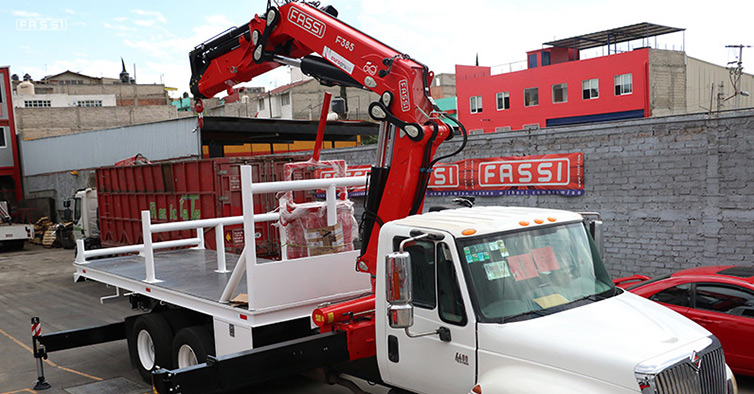 Fassi F385A e-dynamic - Maco International 4400 6x4 DT 530