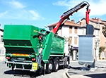 Fassi crane for the recycling sector