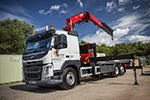 Volvo trucks Fassi - Pickerings Plant