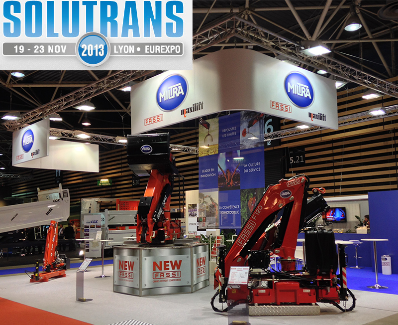 Fassi at Solutrans 2013