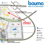 Fassi booth FN 926/2 at Bauma