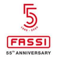 55 años de aniversario de Fassi