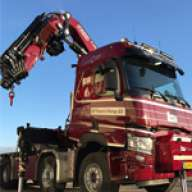 F1150RA.2.28 xhe-dynamic loader crane for a pioneering installation