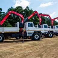 Fassi-Krane F215A für Bergbau