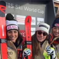Sofia Goggia wins in St. Moritz