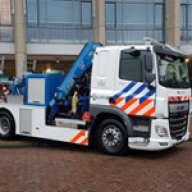 4 Fassi Lkw-Krane für niederländische Polizei